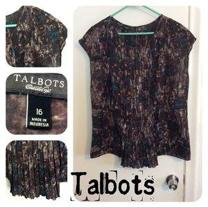 Talbots Size XL Top